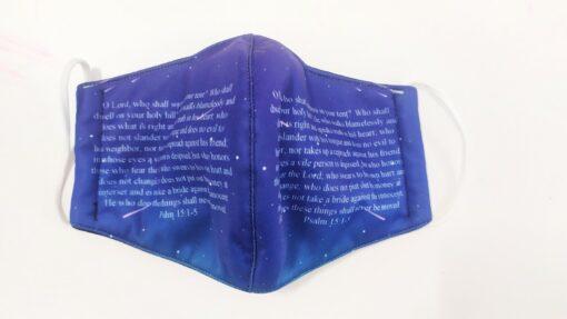 Khẩu Trang 3 Lớp In 3D – Mẫu Khẩu Trang In Kinh Thánh Được Nhà Thờ MỸ Đặt Hàng. 5
