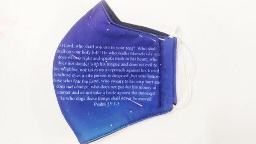 Khẩu Trang 3 Lớp In 3D – Mẫu Khẩu Trang In Kinh Thánh Được Nhà Thờ MỸ Đặt Hàng. 3