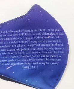 Khẩu Trang 3 Lớp In 3D – Mẫu Khẩu Trang In Kinh Thánh Được Nhà Thờ MỸ Đặt Hàng. 6