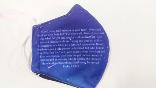 Khẩu Trang 3 Lớp In 3D – Mẫu Khẩu Trang In Kinh Thánh Được Nhà Thờ MỸ Đặt Hàng. 4