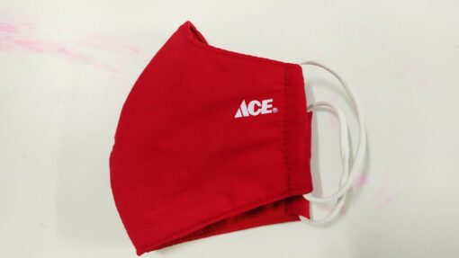 Khẩu Trang 3 Lớp In Logo Cty – Mẫu Khẩu Trang In Logo Cty ACE Theo Yêu Cầu. 3