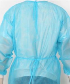 Áo Choàng Nhựa PE Bít Lưng Kiểu Đơn Giản, Sử Dụng 1 Lần GIÁ RẺ. 5