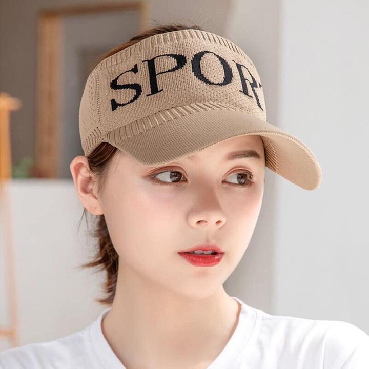 Mẫu nón kết nửa đầu được làm từ vải len dành cho dân thể thao.