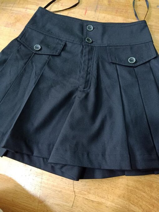 Váy Nữ Màu Đen Hàng Tốt May Mẫu Váy Làm Đồng Phục PG Được May Theo Yêu Cầu. 2