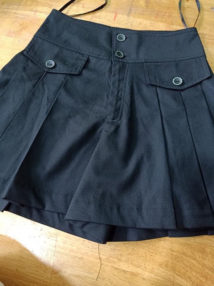 Váy Nữ Màu Đen Hàng Tốt May Mẫu Váy Làm Đồng Phục PG Được May Theo Yêu Cầu. 3