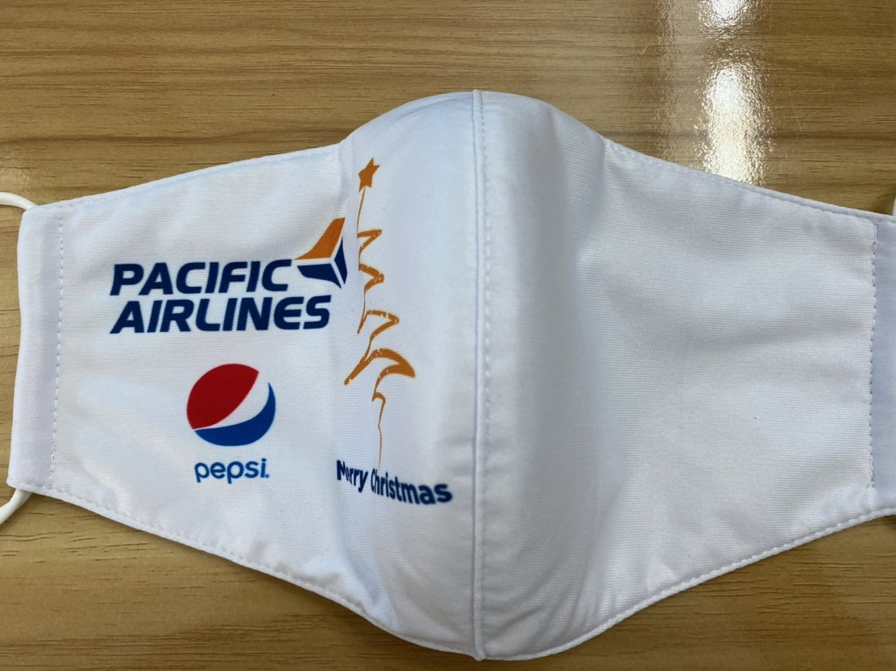 Khẩu Trang In Logo PACIFIC AIRLINES 2 Lớp  - Mẫu Khẩu Trang In 3D Logo PACIFIC AIRLINES Nền Trắng 7